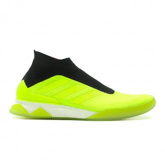 FOOTBALL PREDATOR TANGO 18+ TR BOOST (NEON YELLOW / BLACK / WHITE)