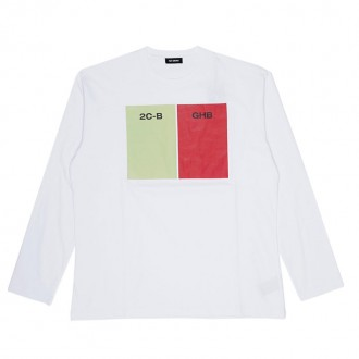 White Long Sleeve T-shirt 2CB-GHB