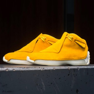 AIR JORDAN 18 RETRO PREMIUM - YELLOW OCHRE