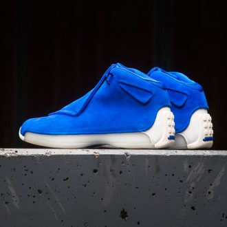 AIR JORDAN 18 RETRO PREMIUM - RACER BLUE