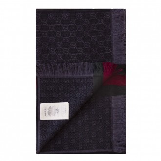 Jacquard Scarf With Web