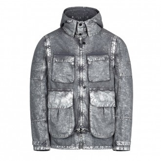 Stone Island Shadow Project 41004 DECONSTRUCT FIELD JACKET WITH GATEWAY POCKETS (DAVID-C, TC+SILVER MIST TREATMENT)