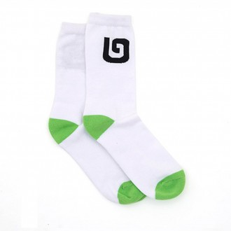 G Collection Adult Socks White