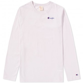 REVERSE WEAVE t-shirt manica lunga