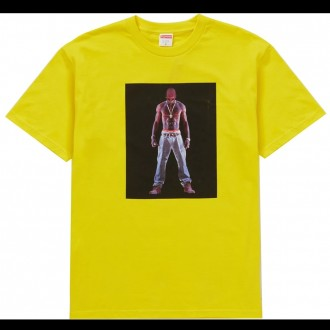 Tupac Hologram Tee Yellow