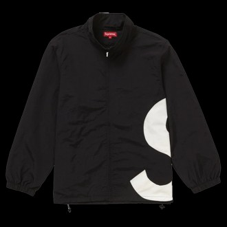 S Logo Track Jacket Black