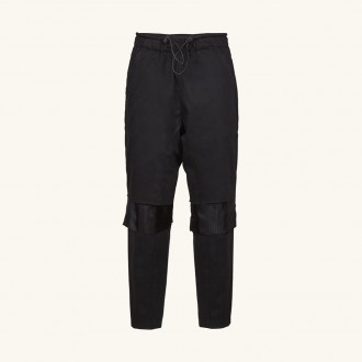 Pants With Knee Cut