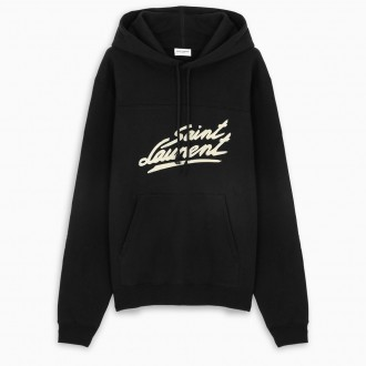 Black Sweatshirt With Logo
