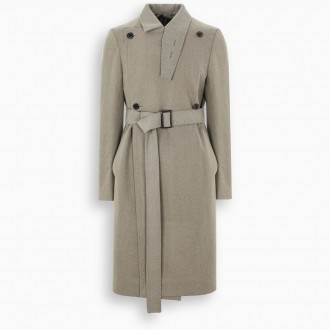 Moody Coat With Belt