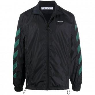 Black And Green Sports Jacket