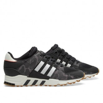 ADIDAS EQT SUPPORT RF Core Black & Off White