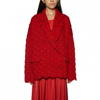 Coat Embroidered In Cotton
