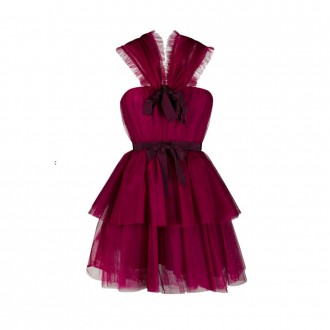 Dress With Rouches