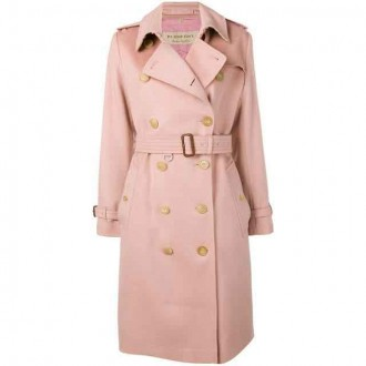trench coat in cashmere