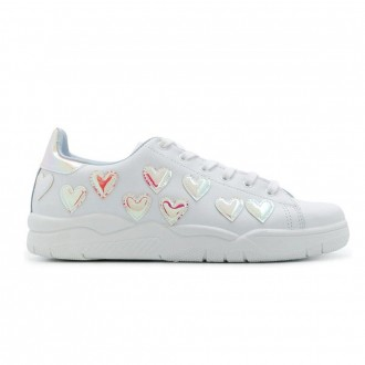 Heart-embellished Low-top Sneakers