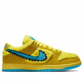 Sb Dunk Low Grateful Dead Bears Opti Yellow