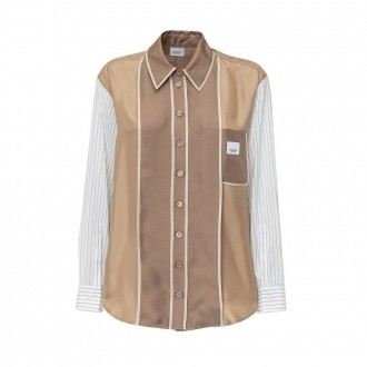 Shirt With Contrast Sleeves