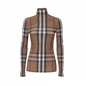 Top With Check Pattern