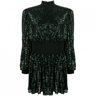 Dress In Green Sequins