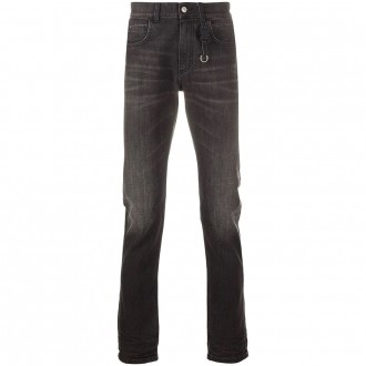 Black Cotton Jeans