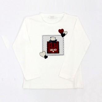 Cotton T-shirt With Perfume Print