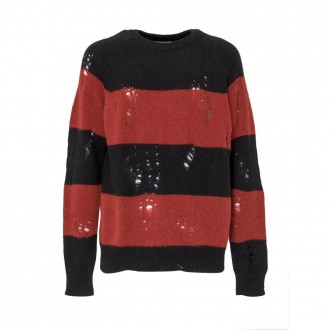Ruined Effect Sweater