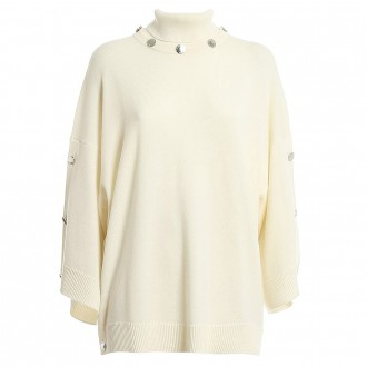 Turtleneck With Silver Buttons