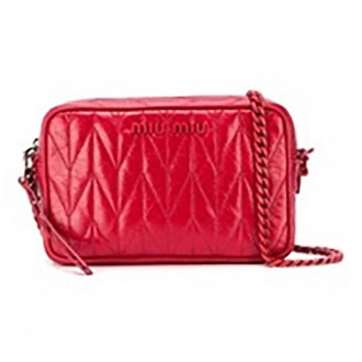 Quilted Shiny Crossbody Bag