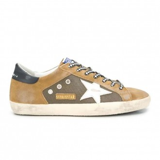 Superstar Sneakers In Brown Leather