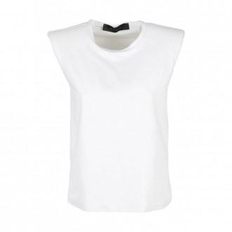 Short Sleeve Top with Shoulder Strap