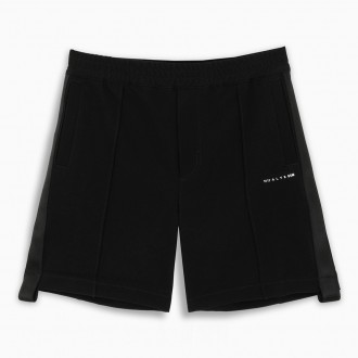 Short Trousers In Black Fabric