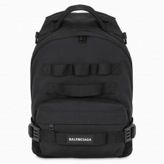 Black Army Backpack