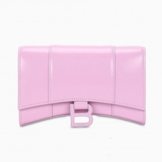 Lilac Wallet With Chain