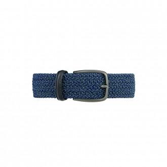 Recycled plastic elastic belt