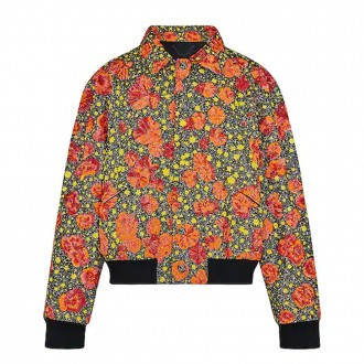 Embroidered dorothy blouson
