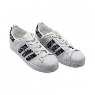 Superstar Diamonds Galaxy Anthracite Sneakers