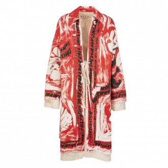 Dust Coat With Kimono Sleeve