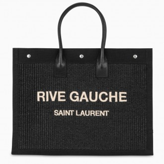 Noe Raffia Tote Bag