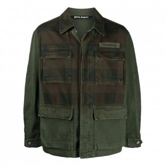 Check-front Jacket