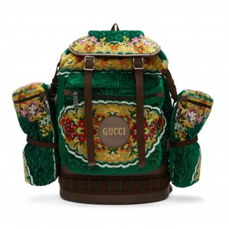 Oversized Tapestry Backpack