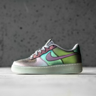 AIR FORCE 1 LV8 (GS) - ANTHRACITE/STEALTH