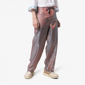 Jacquard Geometric Trousers
