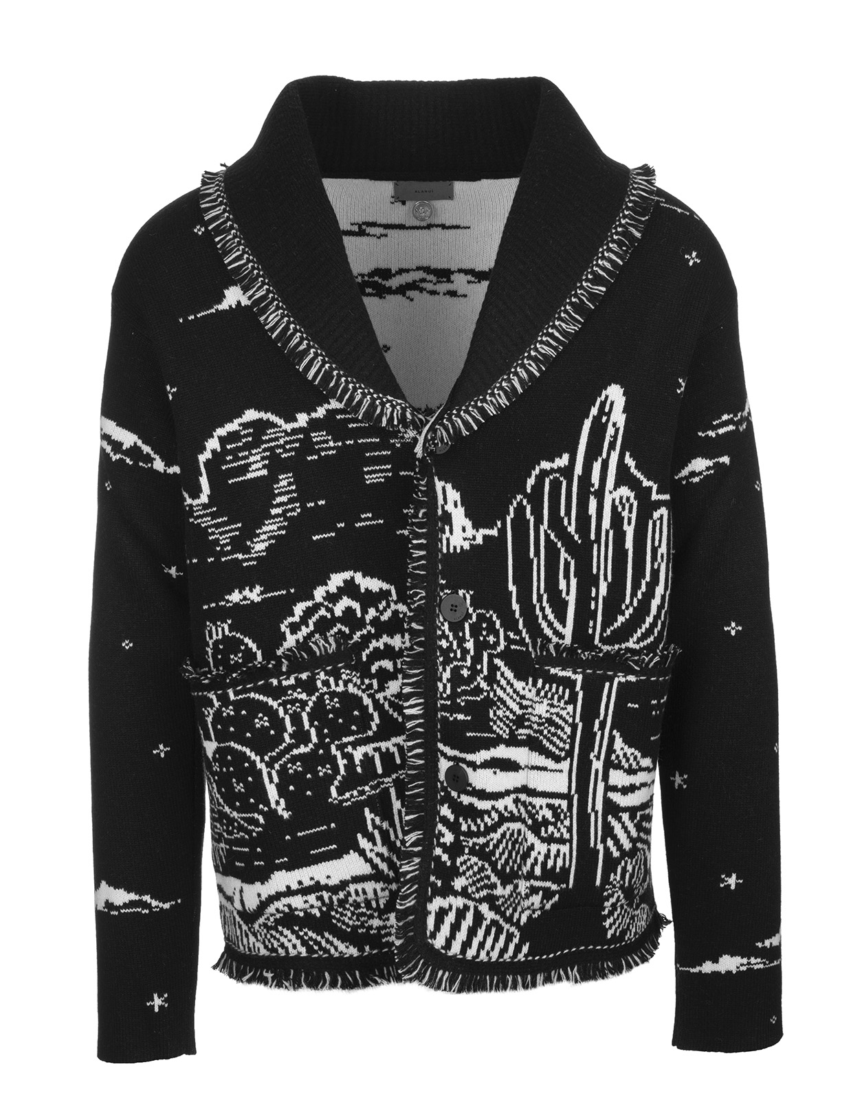 ALANUI Man The Shaded Canyon Night Cardigan