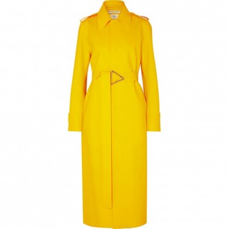 PU trench coat