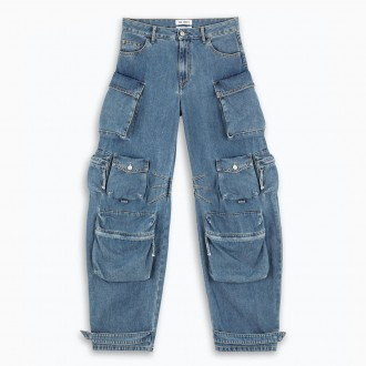 Blue Cargo Jeans