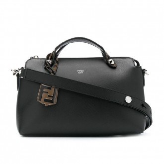By The Way Bag In Black Leather