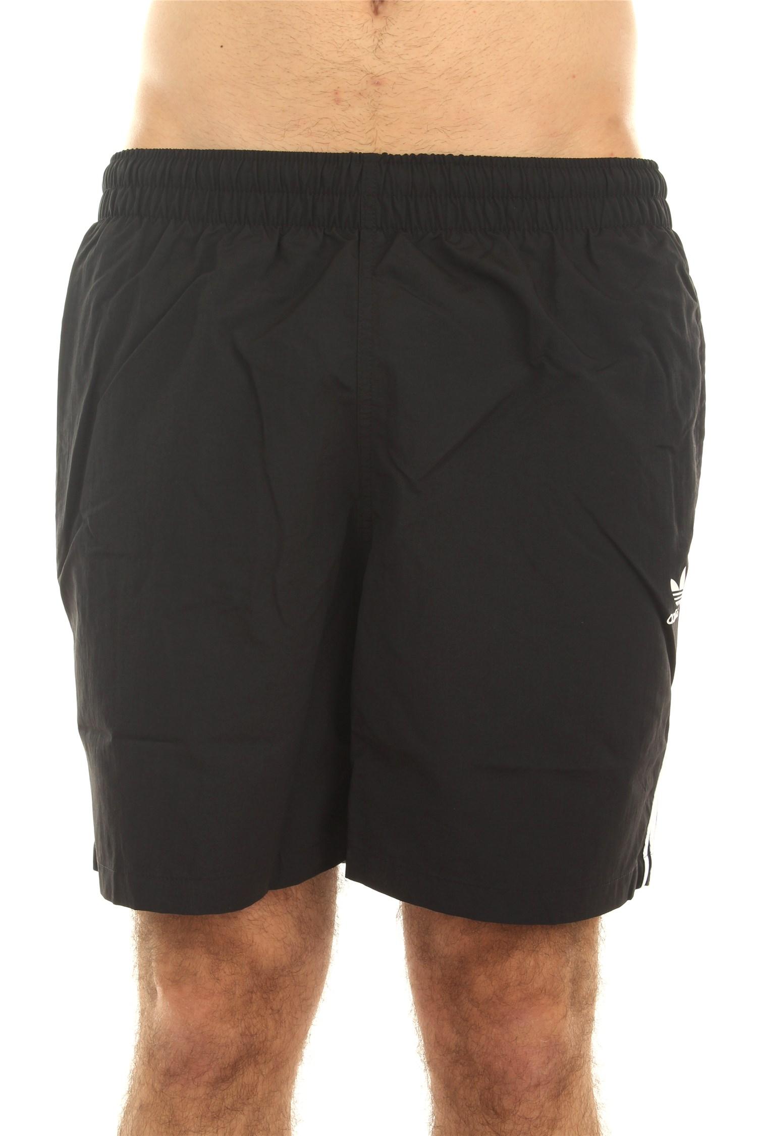 Adidas Swimwear Sea shorts Man Black