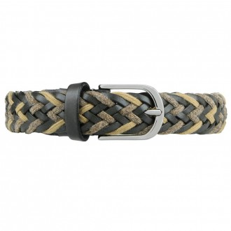 Wool And Leather Belt