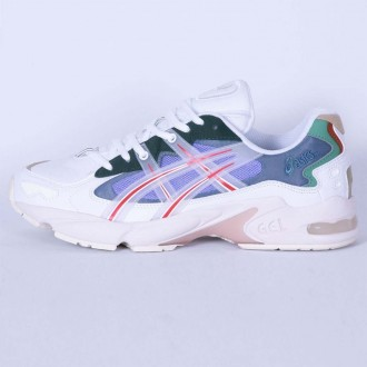 ASICS X HYPEBEAST HBX GEL-KAYANO 5 OG 'MEADOW' WHITE/SPEED RED 1021A180