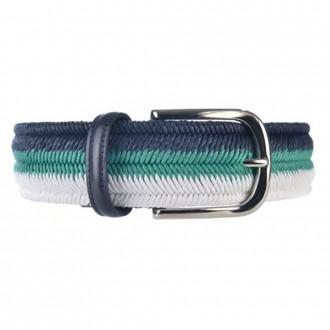 Multicolor stretch belt